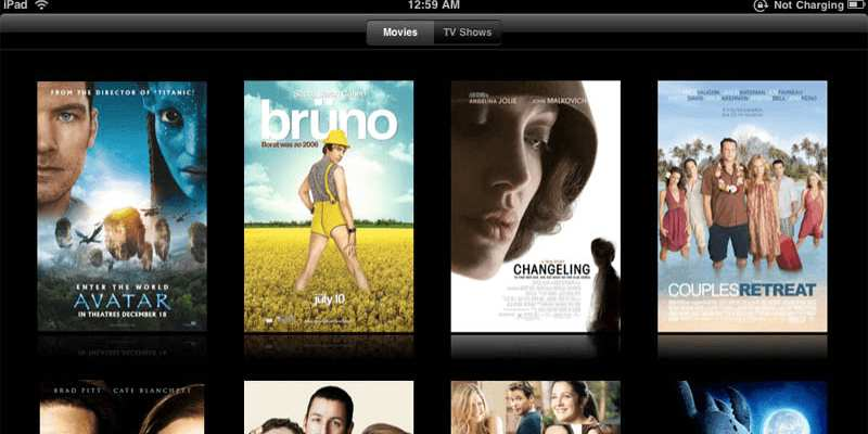 Movie streaming services compared