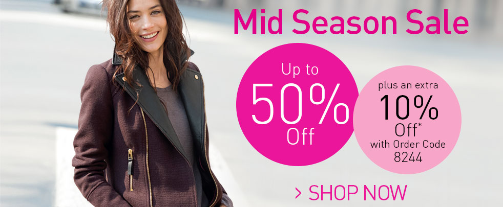 Up to 50% off in the La Redoute Sale