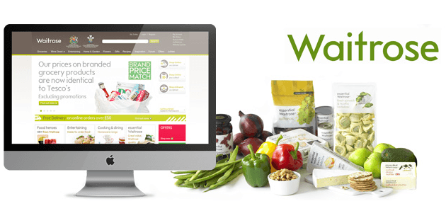 Save £50 with Waitrose Online