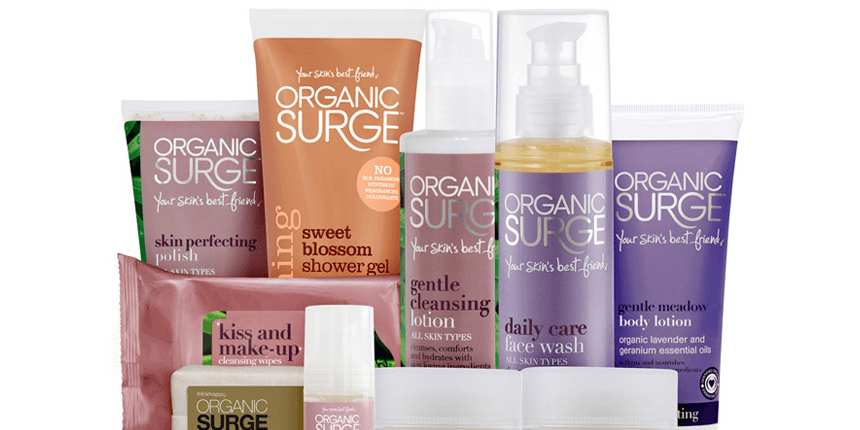Natural, non-greasy hand care from Organic Surge