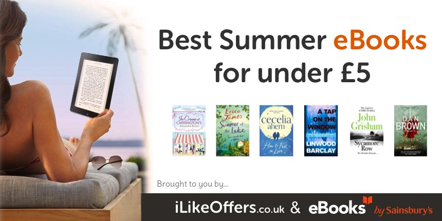 Beach Reads for Under a Fiver