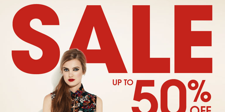 Miss Selfridge Sale - up to 50% off
