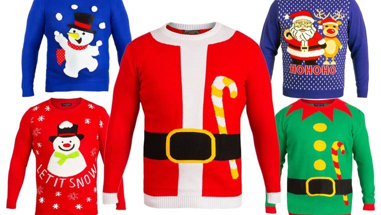 The Best Novelty Christmas Jumpers for under £20