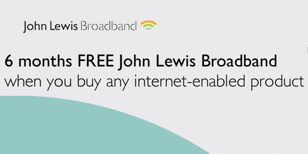 Connecting for less with John Lewis Broadband