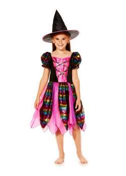 Rainbow Witch Halloween Costume