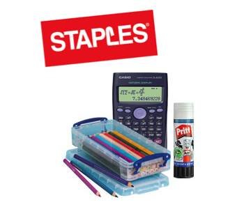 Staples UK Back to School Offers