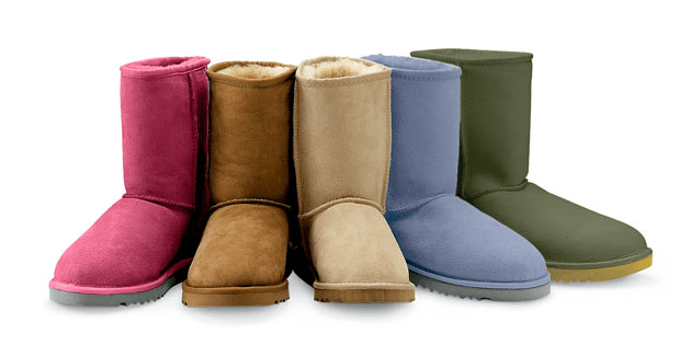 Keep warm with sheepskin UGG Boots