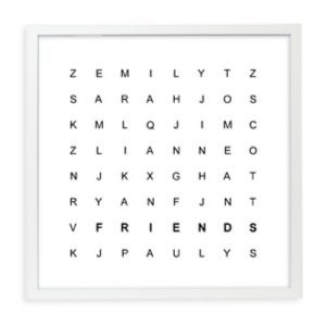 Word Search Print